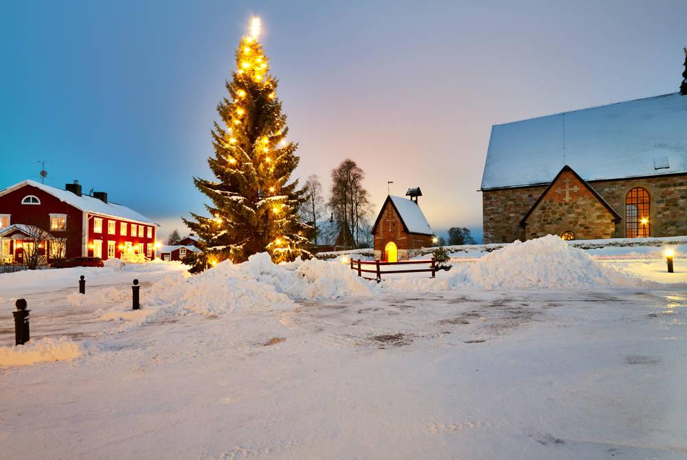 Gammelstad, Lulea, winter