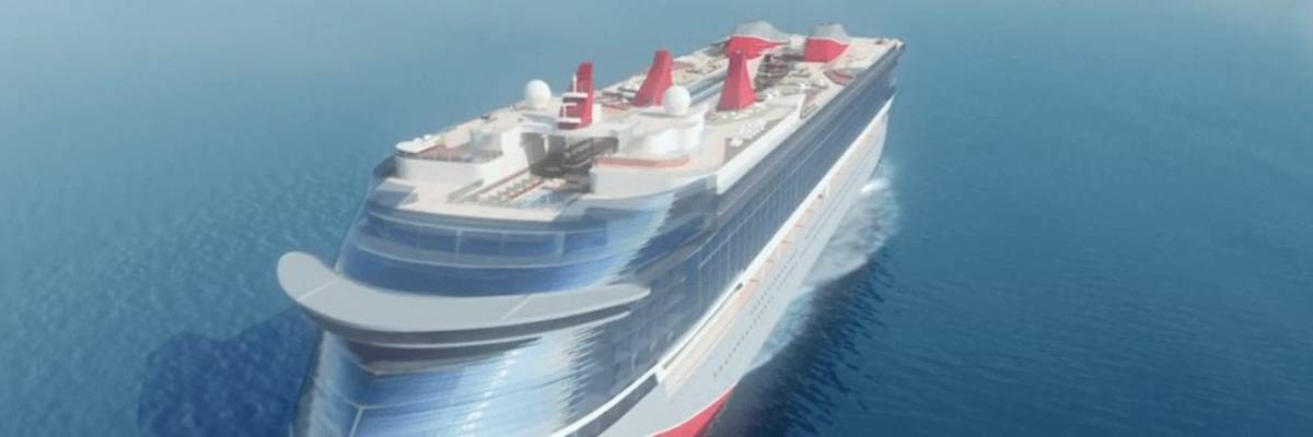 First steel cut for Virgin Voyages new cruise ship