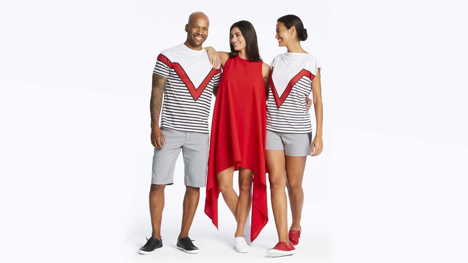 Virgin Voyages Crew Uniforms on Scarlet Lady