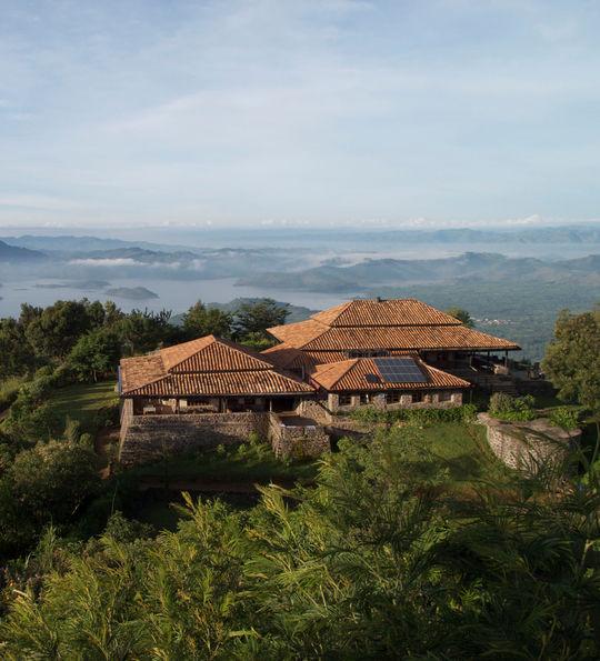 View from Virunga Lodge, Rwanda