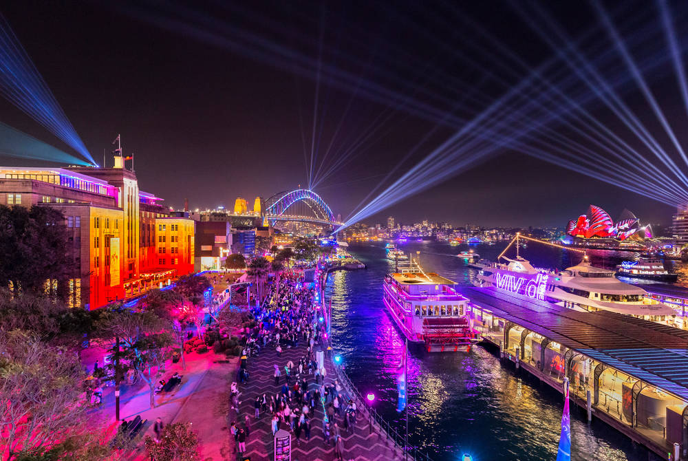 Vivid Sydney (must credit Destination NSW)