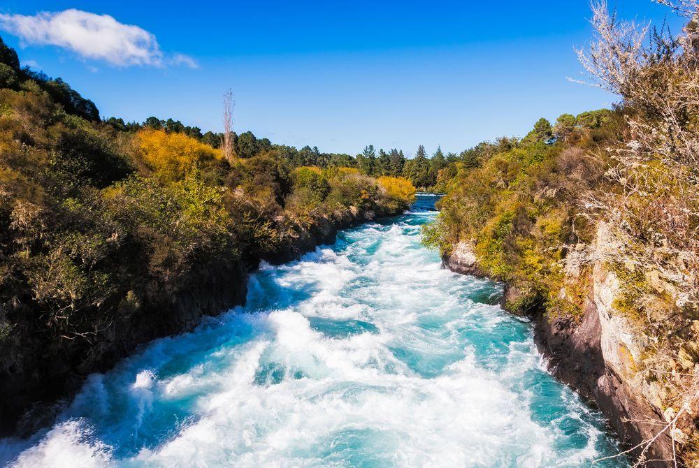 Waikato River New Zealand