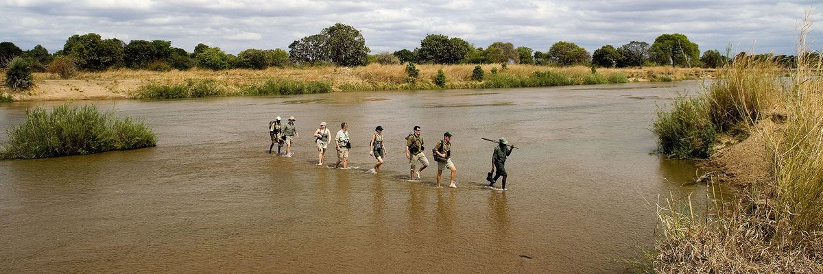 Walking Safari, Robin Pope Safaris, Wilderness Camps