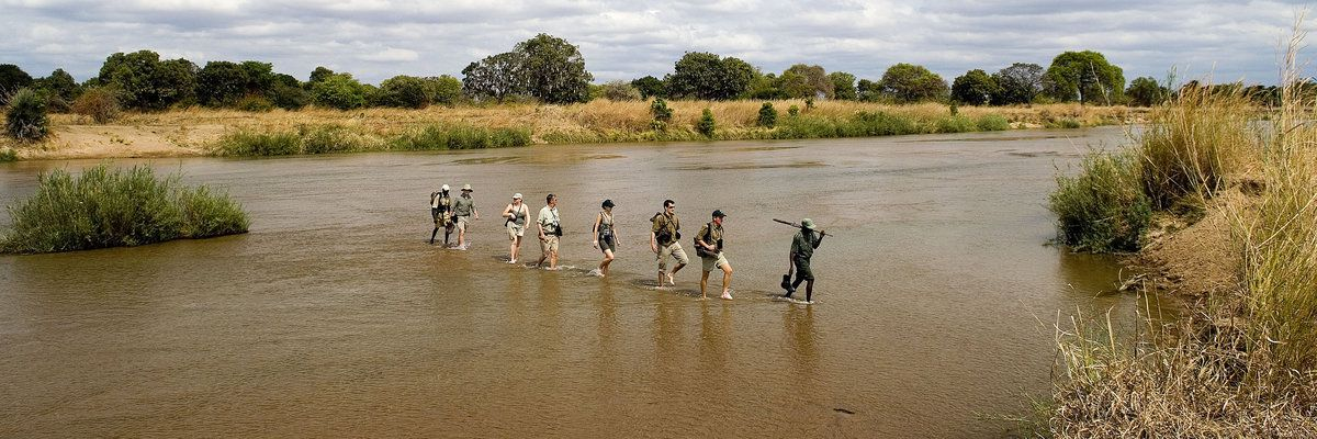 Walking Safari, Robin Pope Safaris, Wilderness Camps