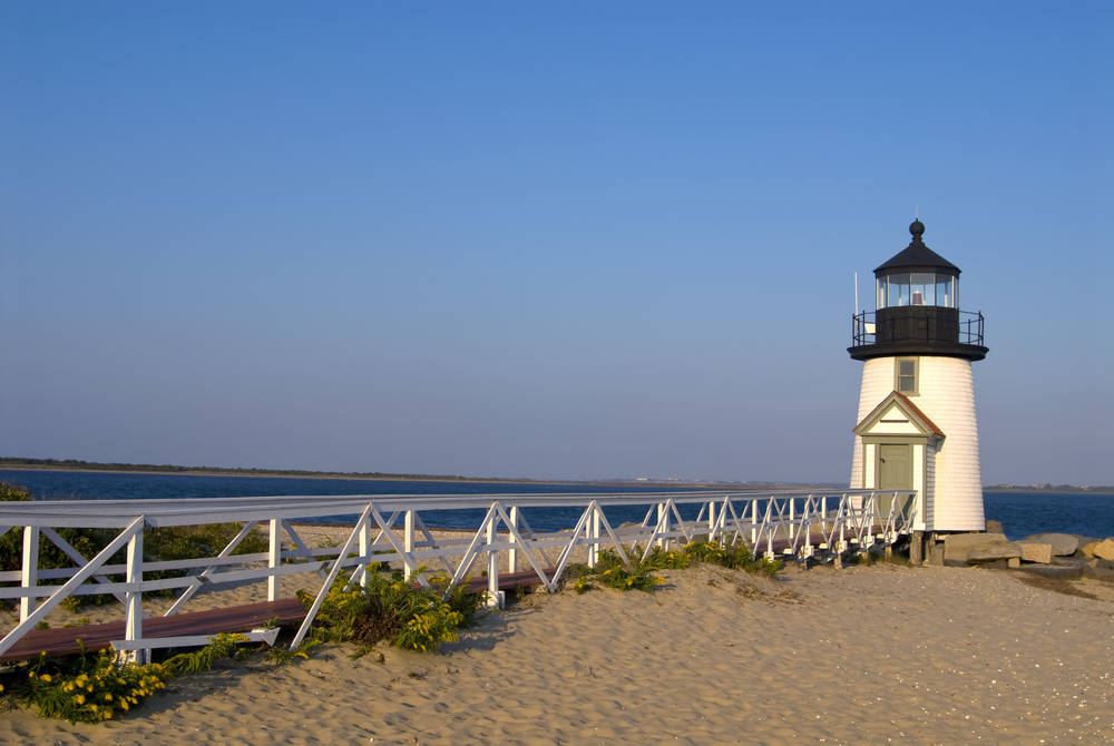 Brant Point lighthouse, Nantucket Island