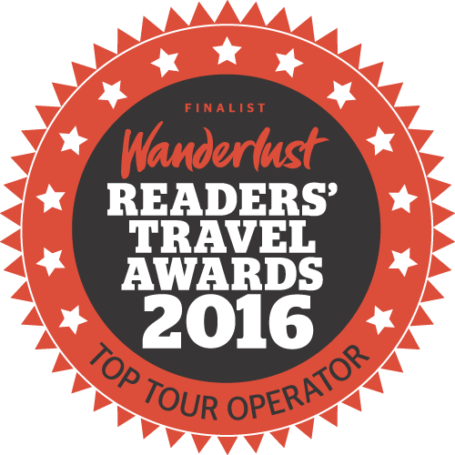 Wanderlust Travel Awards 2016