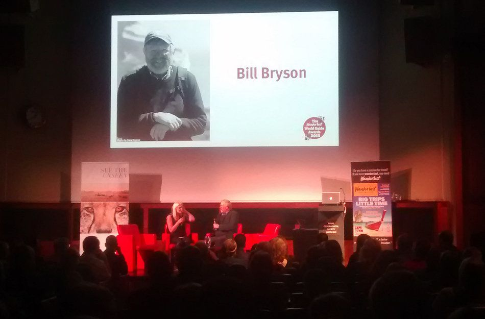 wanderlust world guide awards 2015 bill bryson