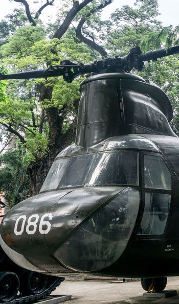 Helicopter, War Remnants Museum, Ho Chi Minh City