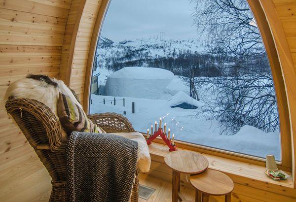 Warm Room, Kirkenes Snowhotel
