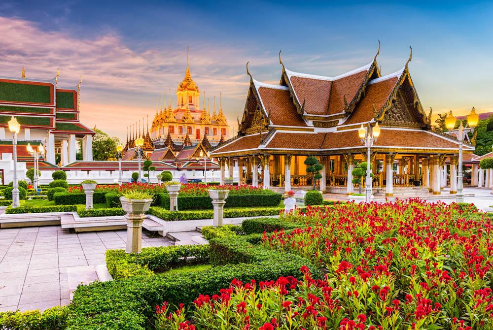 Wat Ratchanatdaram Temple, Bangkok
