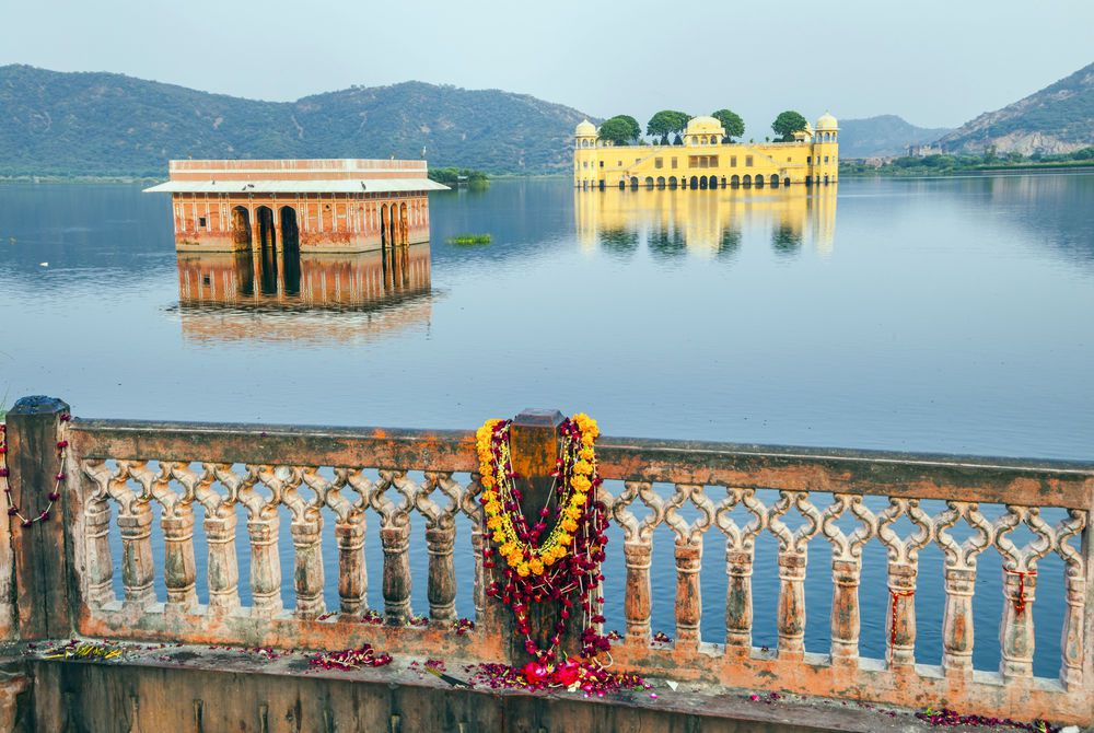Water Palace (Jal Mahal), Man Sagar Lake. Jaipur