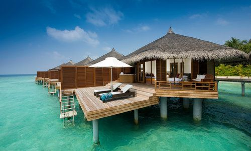 Water Villa, Kuramathi Island Resort, Maldives, Indian Ocean