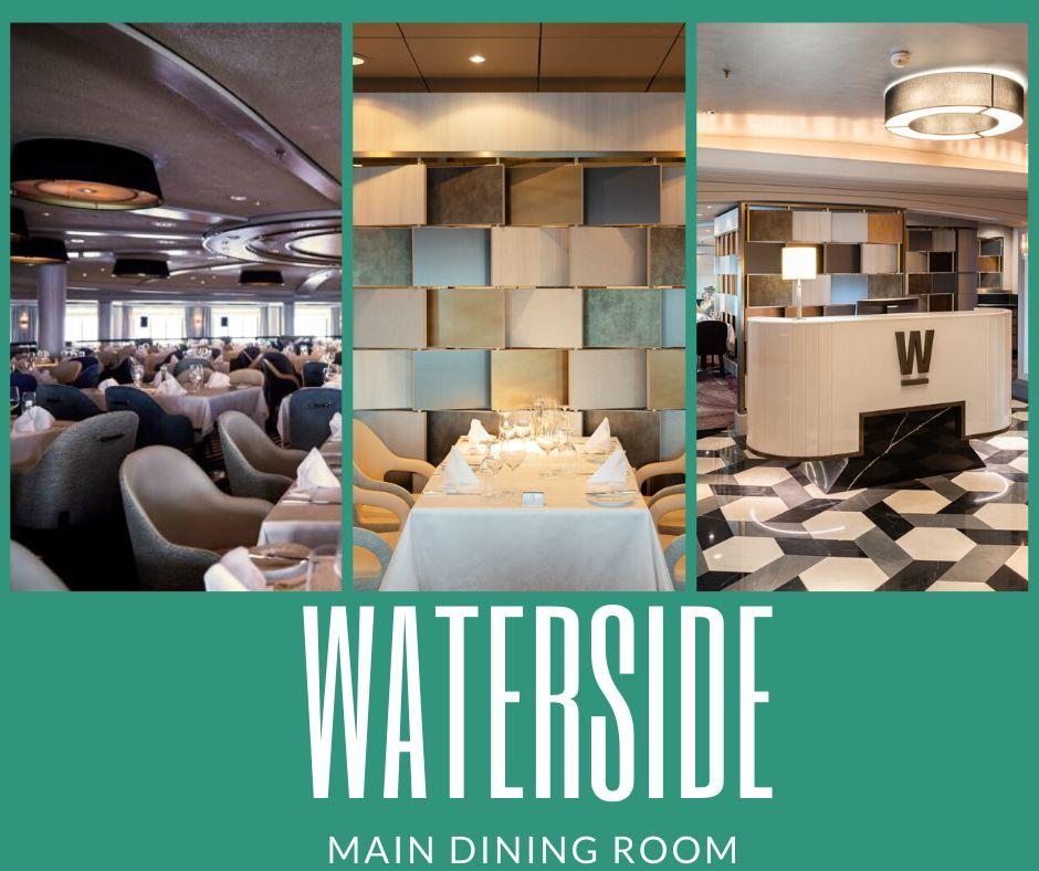 Waterside Restaurant Crystal Cruises