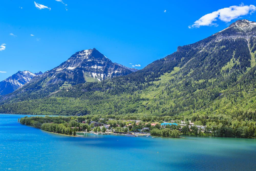 Waterton Lakes National Park in Alberta, Canada