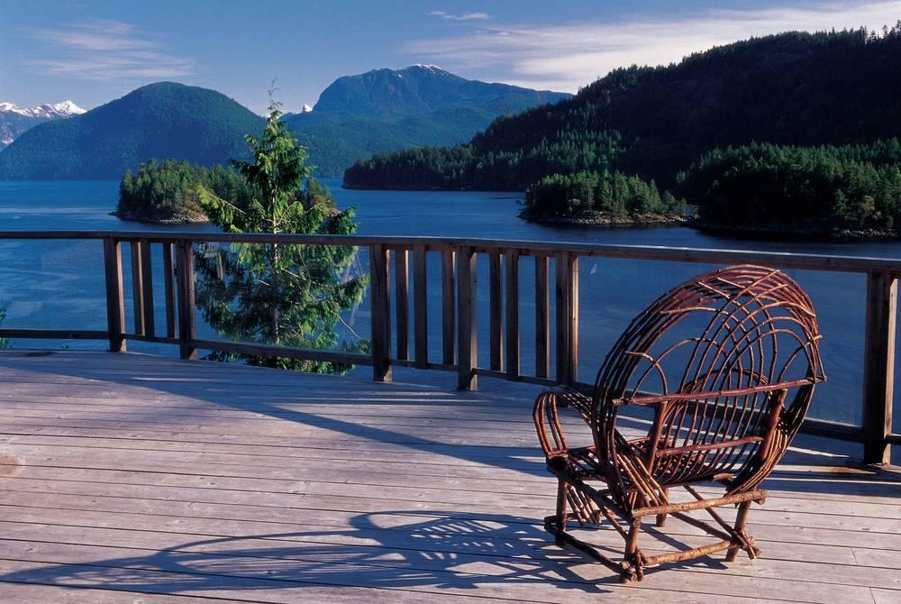 Deck, West Coast Wilderness Lodge