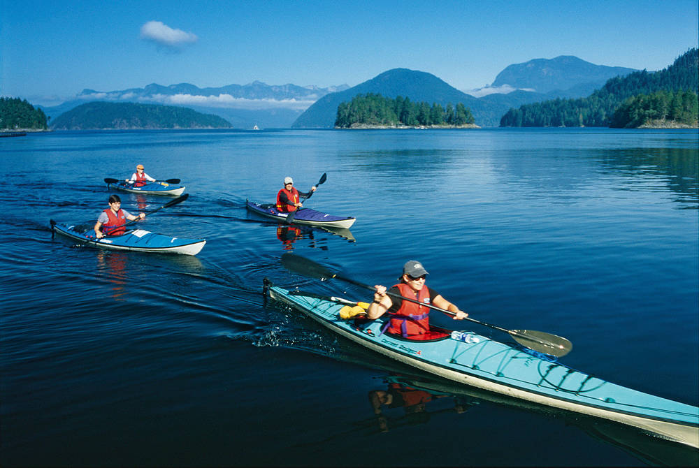 Kayaking, West Coast Wilderness Lodge