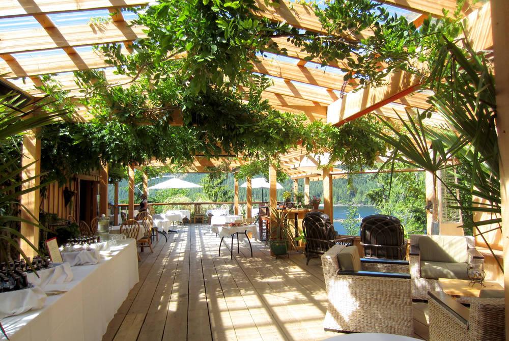 Lounge area, West Coast Wilderness Lodge