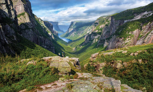 Western Brook Pond Fjord, Gros Morne National Park
