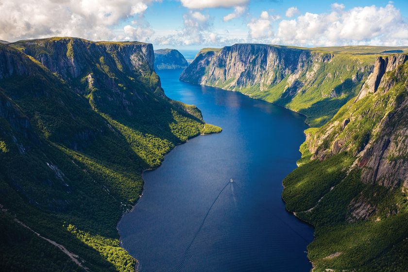 Western Brook Pond Gorge, Newfoundland