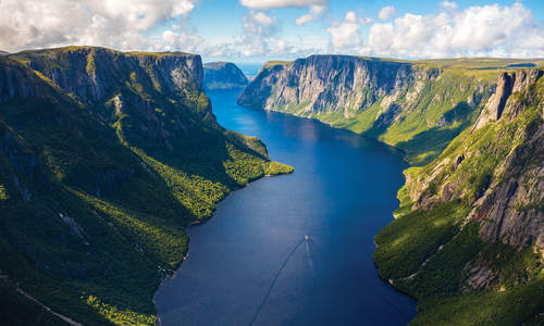 Western Brook Pond Gorge, Gros Morne National Park, Newfoundland