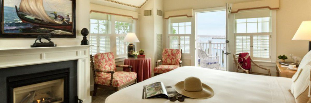 Rooms at White Elephant, Nantucket Island