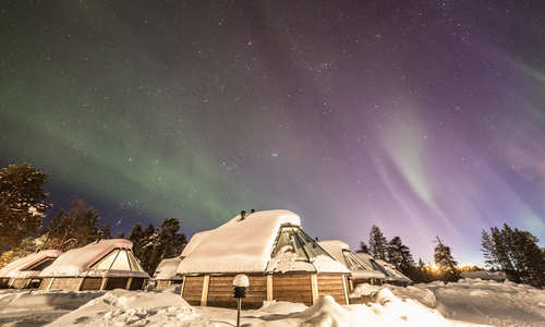 Northern Lights break at Wilderness Hotel Inari