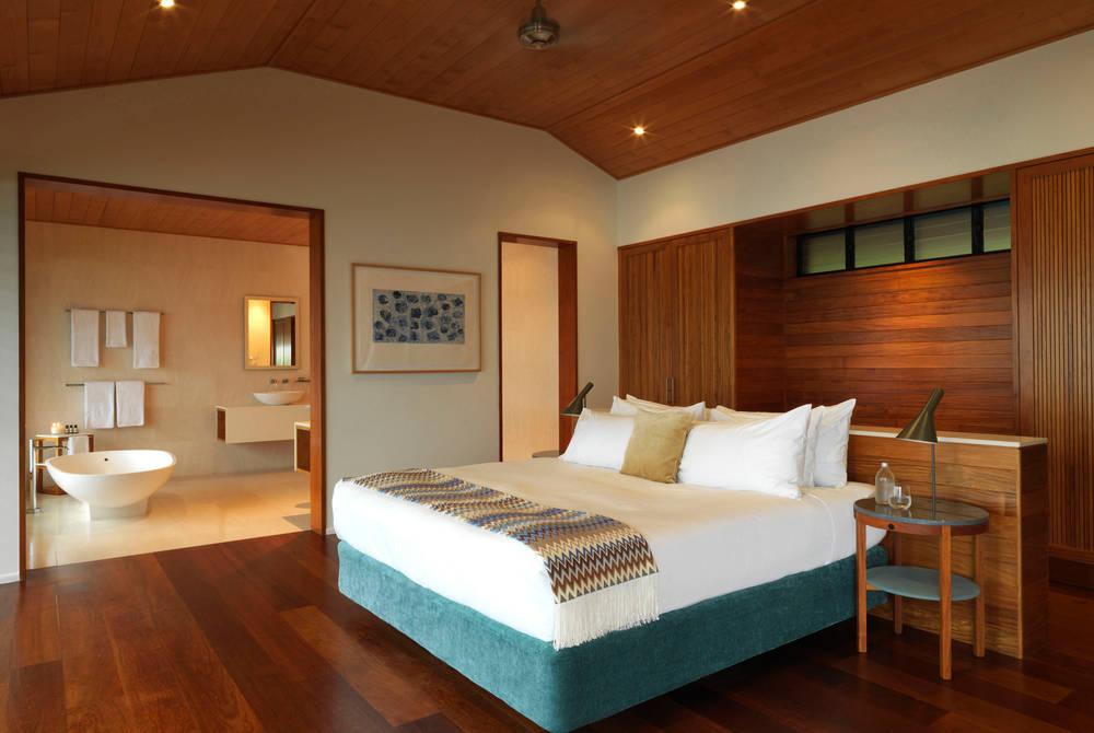 Windward Pavilion bedroom, Qualia, Hamilton Island