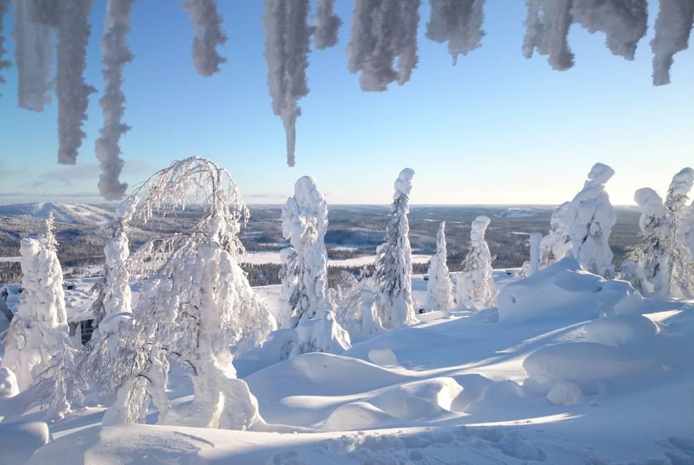 Winter landscape, Iso-Syote