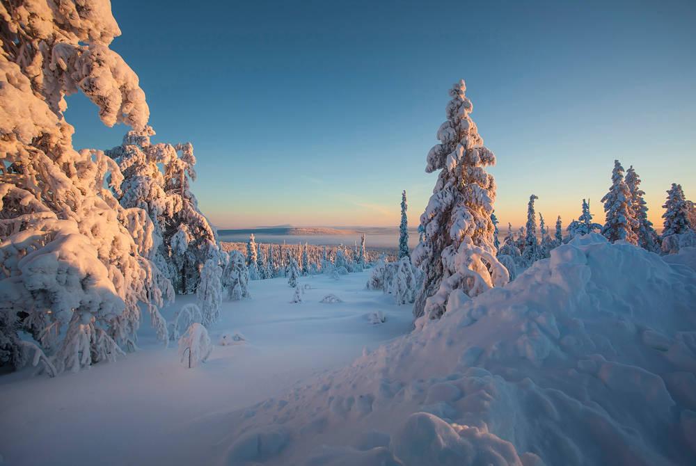 Wilderness views, Finnish Lapland