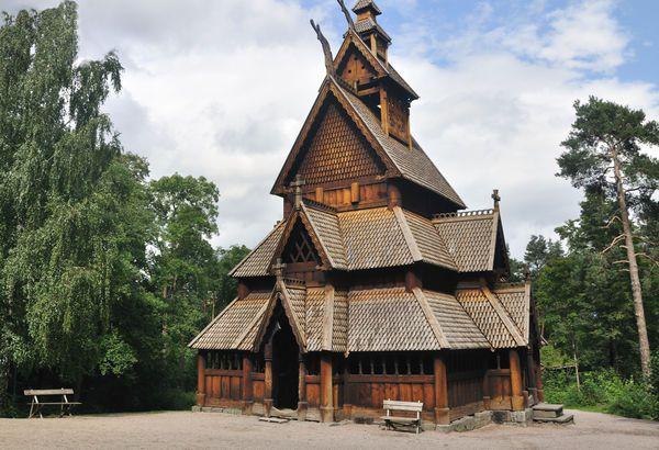 Wooden Church, Oslo, Norway