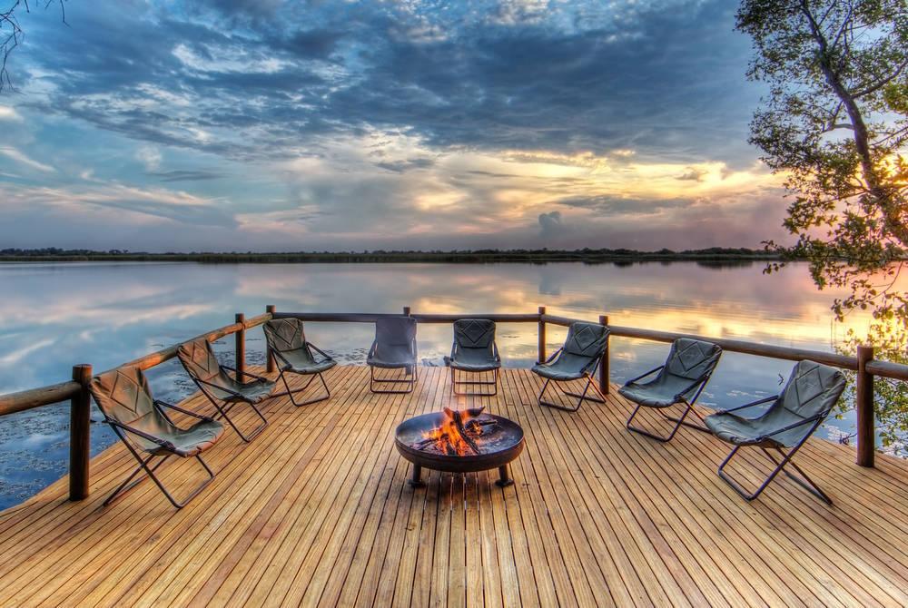 Xugana Island Lodge, Okavango Delta