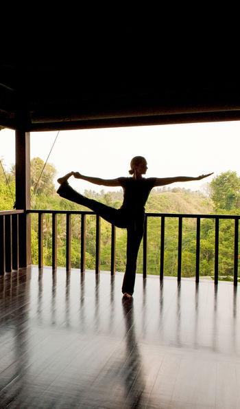 Complimentary yoga, Como Uma Ubud