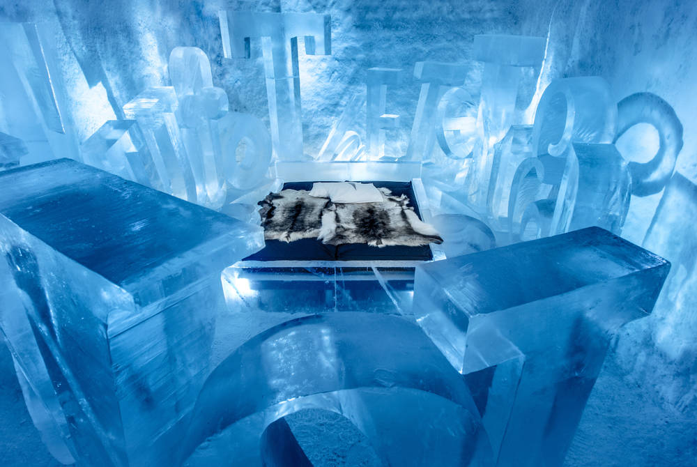 You Are My Type Art Suite, ICEHOTEL 365 (© Asaf Kliger)