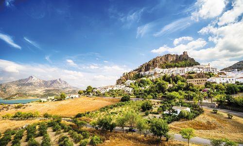 Zahara de la Sierra, Andalucia