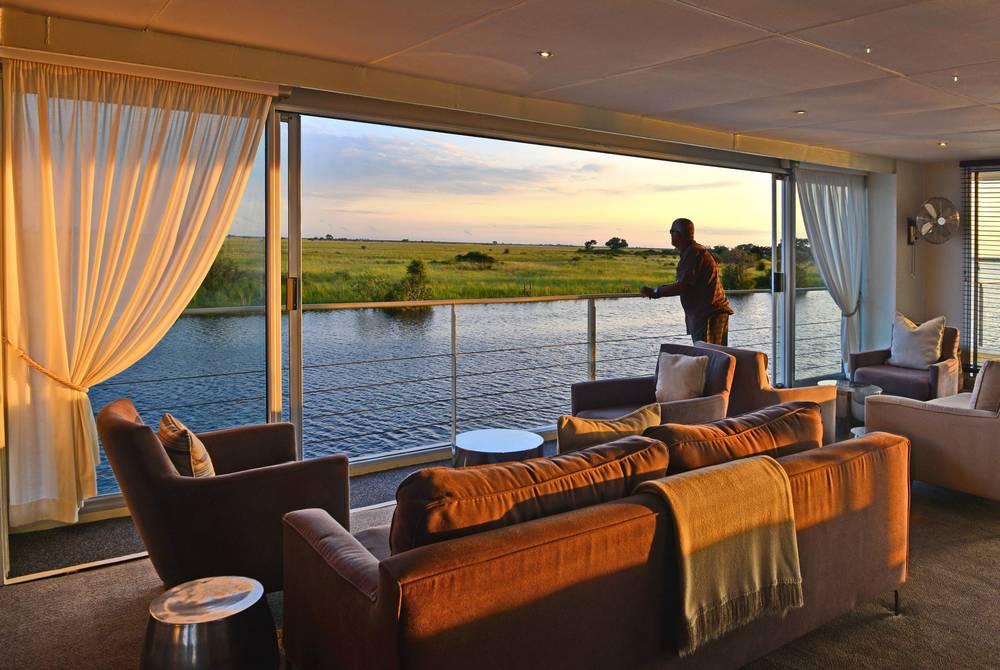 Lounge, Zambezi Queen