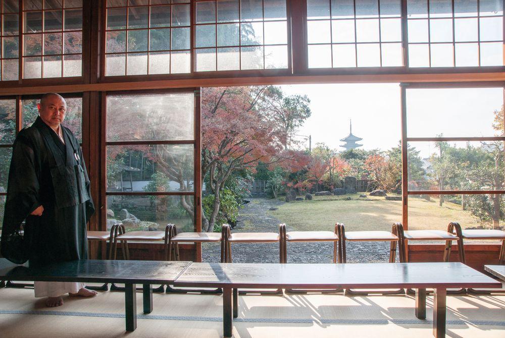 Zazen Meditation, Kyoto