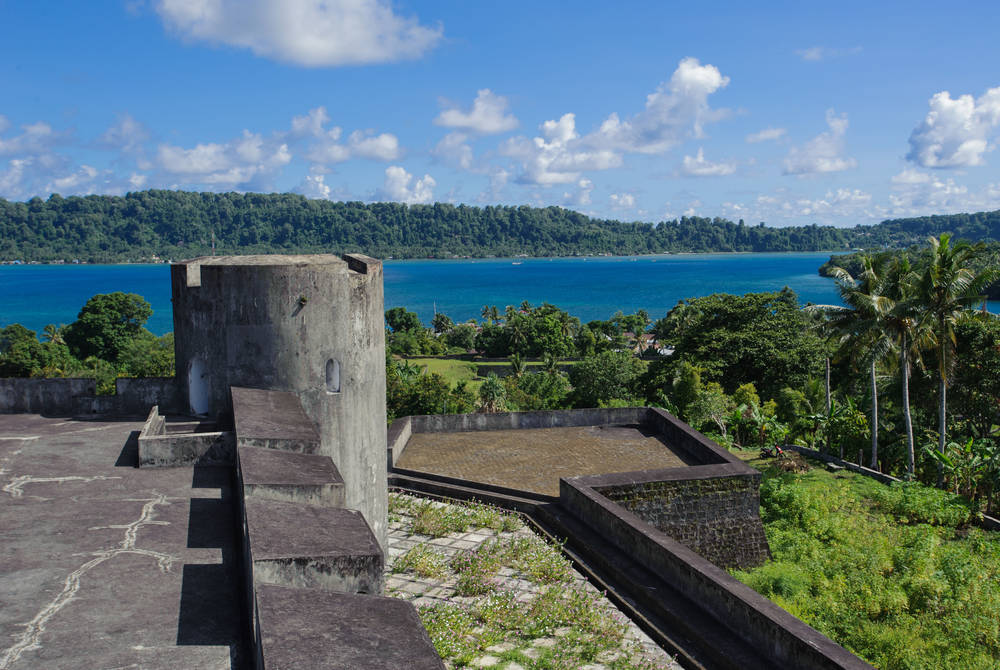 Belgica Fort, Banda Neira island, West Papua