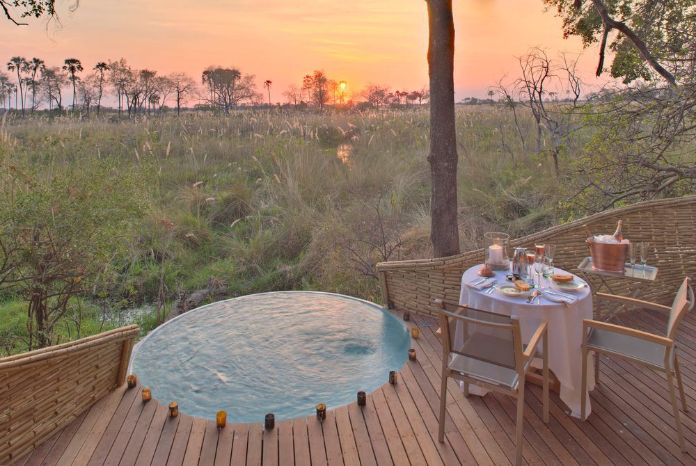 &Beyond Sandibe Okavango Safari Lodge, Chitabe Concession