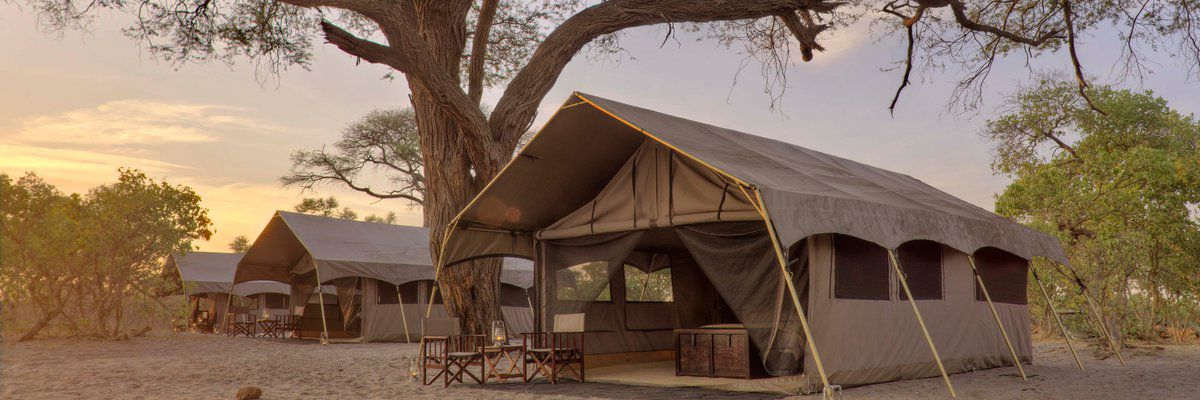 &Beyond Savute Under Canvas, Chobe National Park