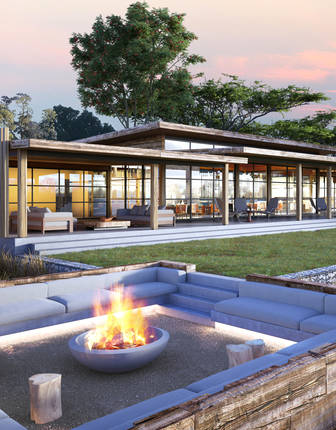 &Beyond Tengile River Lodge (artist's impression)