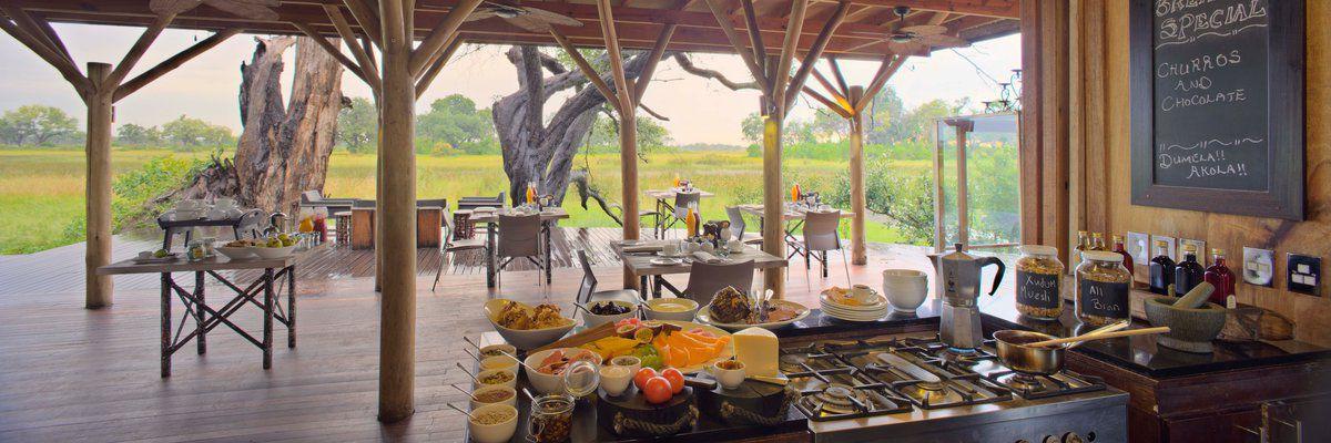 &Beyond Xudum Okavango Delta Lodge, Botswana