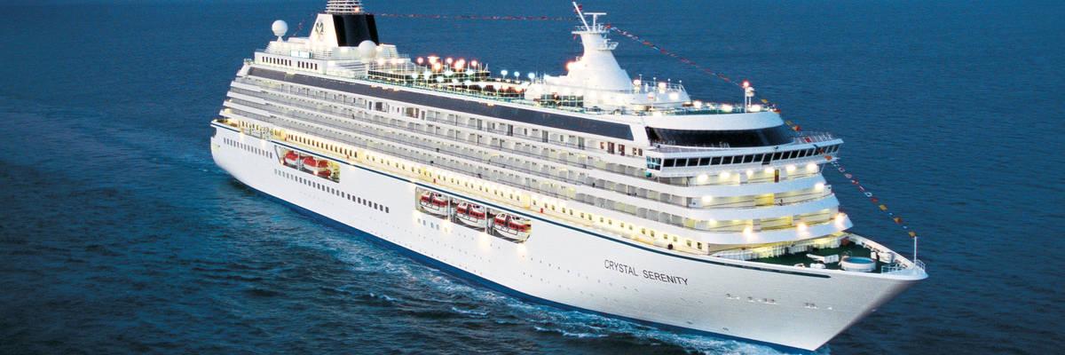 Crystal Cruises reveal World Cruise 2022