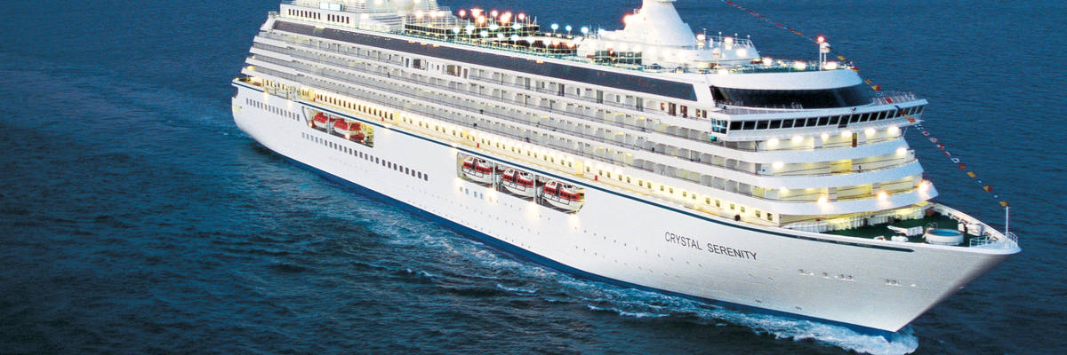 Behind The Scenes Of Crystal Cruises Crystal Serenity Redesign