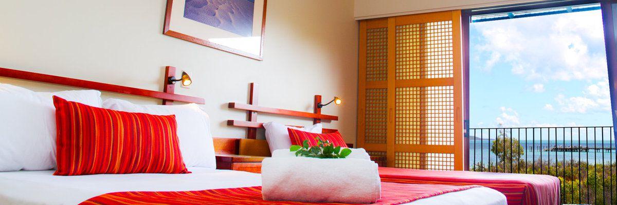 Room at Kingfisher Bay Resort