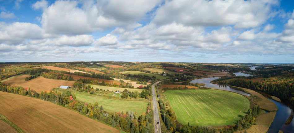 Road near  New Glasgow, Prince Edward Island