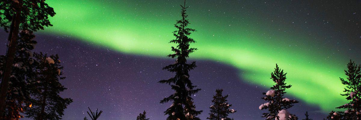 Northern Lights, Swedish Lapland, Sweden