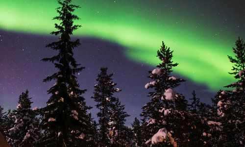 Northern Lights, Swedish Lapland, Sweden