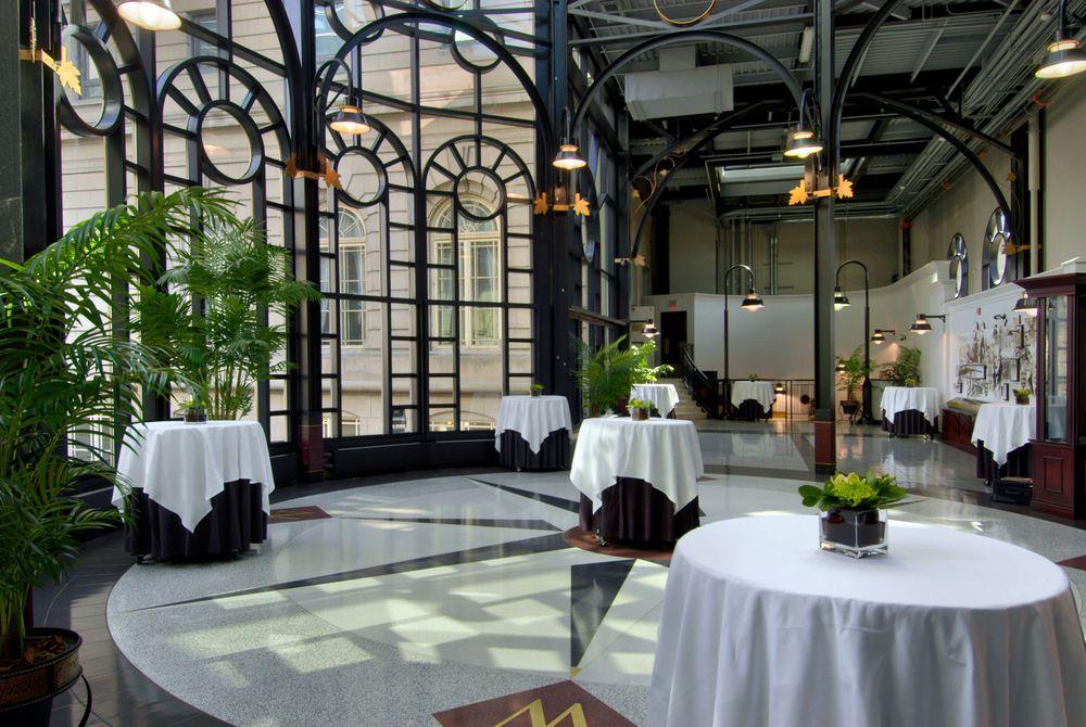 Dining room at the Fairmont Palliser
