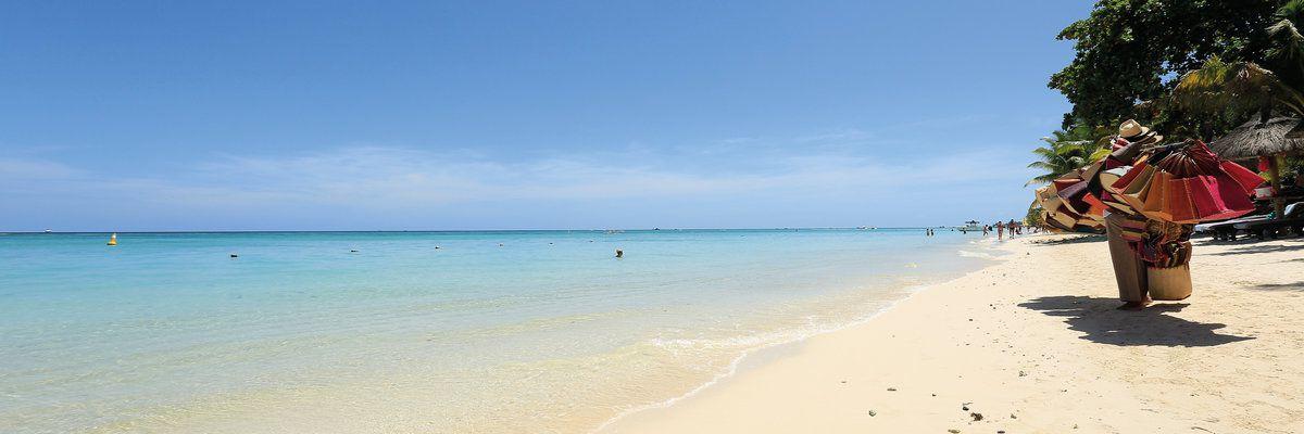 Trou aux Biches, beach