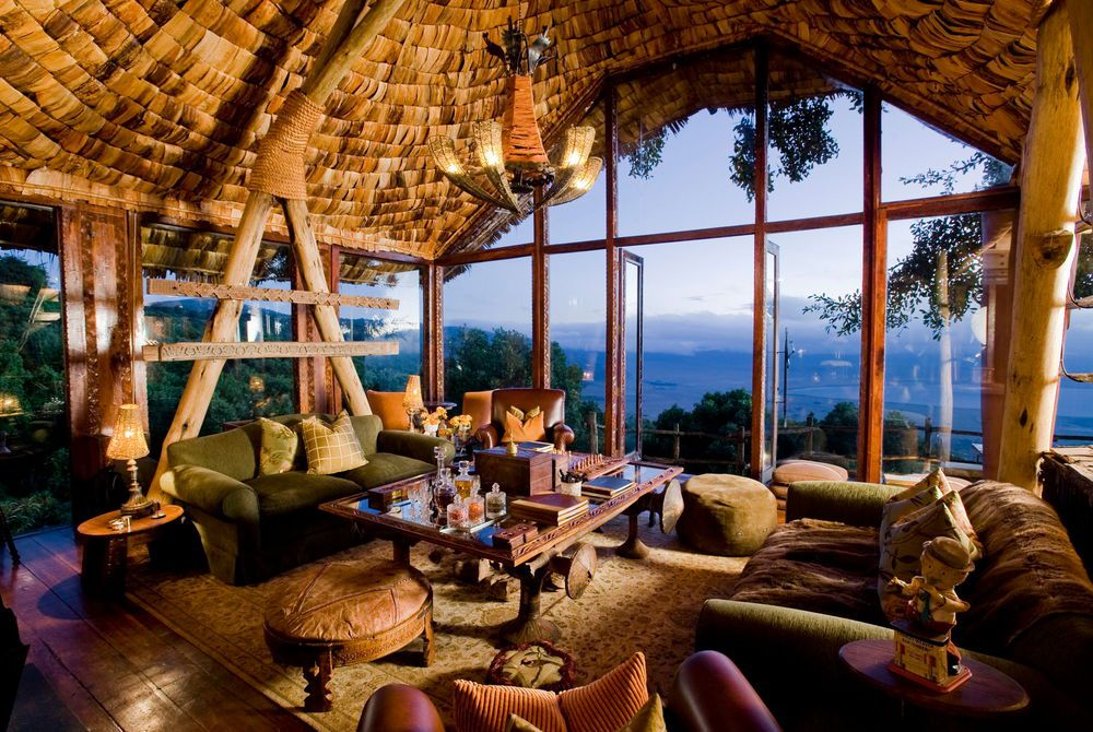 andBeyond, Ngorongoro Crater Lodge, Tanzania, Africa